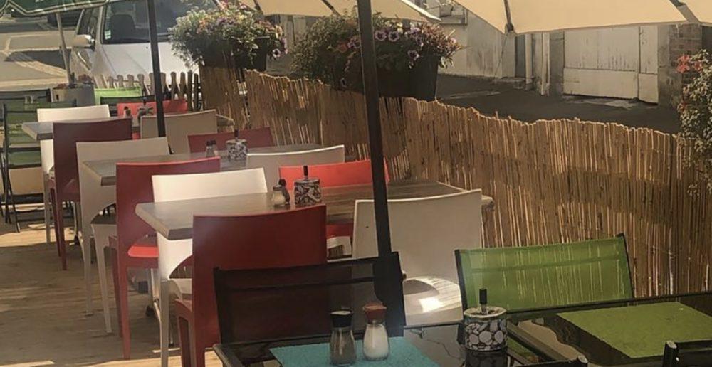 terrasse du restaurant Méditerranée de Voves