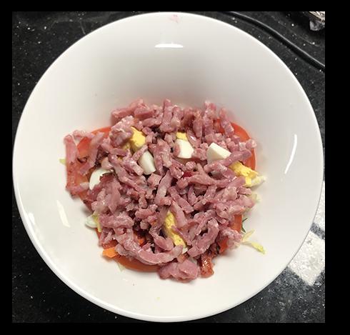 salades du restaurant méditerranée de voves