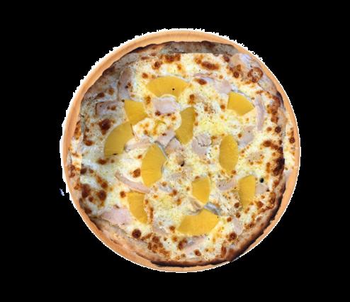 pizza hawaïenne restaurant Méditerranée de Voves