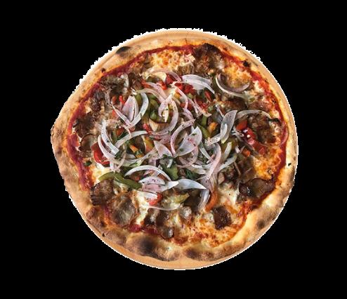 Nos pizzas, pizza kebab