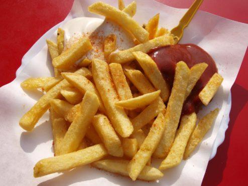 photo de barquette de frites restaurant méditerranée voves